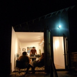 Independence Art Studios is a small community of passionate visual artists with the first of what will be several buildings, starting with four shipping containers.