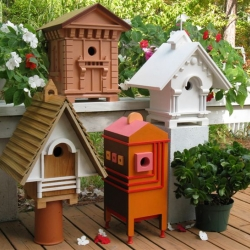 Architectural Editions Birdhouses - Classic Architectural Birdhouses By Award-winning Architect Richard T. Banks
