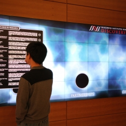 The Wisconsin Institute for Discovery recently unveiled two of the highest resolution interactive surfaces in the world.