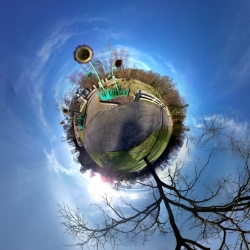How to create Tiny Planets with an iPhone.