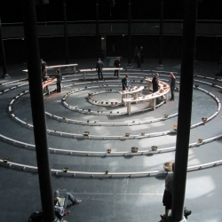 On the 12th September the first live performance of Longplayer began at The Roundhouse, London. The full performance lasted 1000 minutes... this is merely a fraction of that, and an inconceivably small part of the full 1000 year long composition.