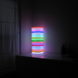 color stack neon lamp