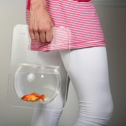 fishbowl take away.to carry your fish friend with you outdoors.