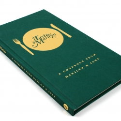 As a self-promotional piece for Marilyn & Sons, we decided to collate all the Friday lunchtime recipes we'd cooked over the year, and turn them into a handy 72-page cookbook.