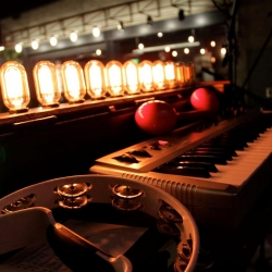 Light Organ, translates keyboard presses into light bulb illumination.