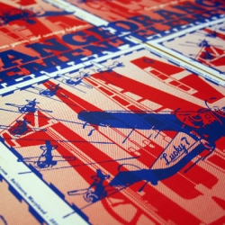 Win a limited-edition, aviation-themed poster designed by Orange Element and screenprinted by historic Globe Poster of Baltimore, MD!