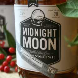 Perhaps the best Christmas gift this year is a bottle of moonshine in a mason jar.