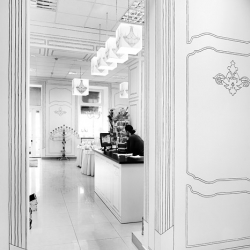 Gift Shop created 2 months ago by belenko! All baroque decor is painted on the white walls and furniture.