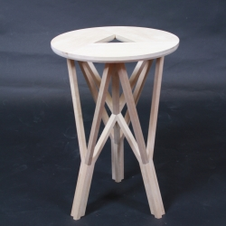 "Metsä, which means ""Forest"" in Finnish, is the result of a two french designers' trip abroad in a little finnish town called Lahti. This stool is their representation of their journey! This stool was made by Emmanuel Taillard & Geoffrey Riberry"