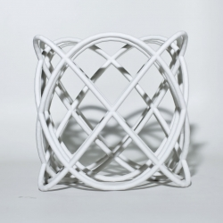 This is what a major chord looks like! (3D printed sculpture) The Harmonics Series is a nice exploration around visualization of musical harmony.