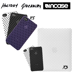 NOTCOT Holiday Giveaway #13: Incase is giving away 8 bundles of iPhone4 and iPad goodies!
