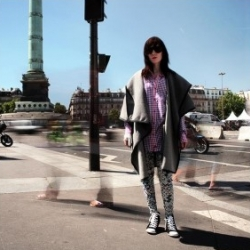 Pretty cool video of fashion crew BKRW (Black Rainbow) in Paris, with stop motion with a funky soundtrack.