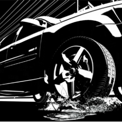 Beautiful graphic commercial for Pontiac. Made by Leo Burnett.
