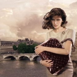 Laetitia Casta starring in Paris, for Louis Vuitton fall 2008-2009