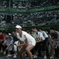 Adidas Countdown ad, featuring Chinese Olympians and sports fans. Created by TBWA China.