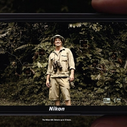 """""""The Nikon S60. Detects up to 12 faces."""""""