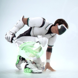At the occasion of his 75th birthday, Lacoste proposes his new futurist 3D spot.