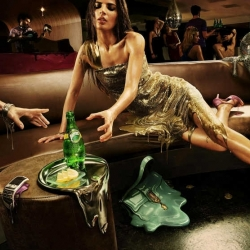 """New and beautiful campaign """"Perrier Melting"""" by Ogilvy Paris."""