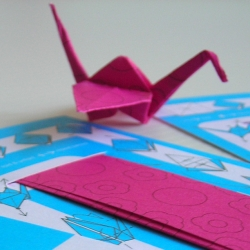 Origami Business Cards, by Milos Milosevic.