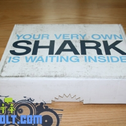 Shark Week press kit had awesome packaging.