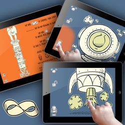 InfiniScroll is an open ended storytelling tool for curious minds. Discover the storyteller in your child, and in you.