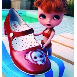 Blythe shoes at Irregular Choice.