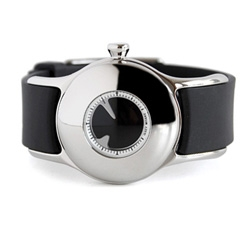 The Issey Miyake OVO designer minimalist wrist watch. Does watch design get any better than this? We are in love.