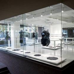 Tokujin Yoshioka's store design shows off the work of designer Issey Miyake.