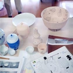 Mundial Kutani. Hayon + Choemon: Mediterranean design meets Japanese ceramic traditions.