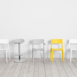 The Stockholm based design studio Form Us With Love and IKEA are collaborating to create a new collection of chairs and stools.