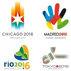 Olympic Games 2016  logo design