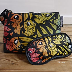 All new artist designed Washbags and Eyemasks for Summer 2010 - featuring designs from Nathan Jurevicius, Nanami Cowdroy and Joe Ledbetter (pictured) amongst others.