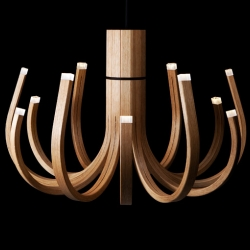 'June' chandelier by Mikko Paakkanen for Nikari.