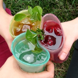 Winner for structural/sculptural integrity at the GSS Jell-O Mold Competition, Jelloware re-imagines the concept of drinking, and  imparts a new experience in the way it feels, tastes, smells, moves, and is even disposed of.