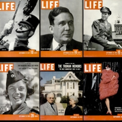 Google has made every page of every issue of Life magazine, from the mid-thirties to early seventies, available online, advertising included.