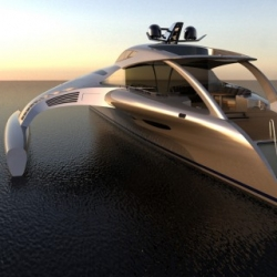 The Adastra Super Yacht is one of the most impressive yachts we have seen! Check out the super interesting images of the yacht being built