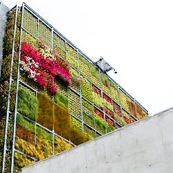 Jose Maria Chofre's six-story vertical garden in Southern Spain.