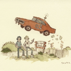Some fantastic and humorous artworks from Scott Campbell. Also has some great prints for sale.