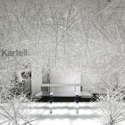 In live from the flagship store Kartell Milano, the exposition INVISIBLES by Tokujin Yoshioka...