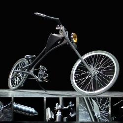 KATABRANK 07. Custom built bike from Slovenia presented on Biennale of Industrial Design 1008 in Ljubljana - Slovenia. Author: Jaka Mihelic a.k.a. Jaka Katabrank.