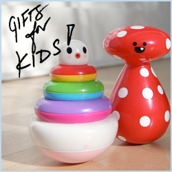 NOTCOT Holiday Gift Guide: Gifts for KIDS! Big kids, little kids, new parents, here's a list of fun gifts for the imaginative wee ones