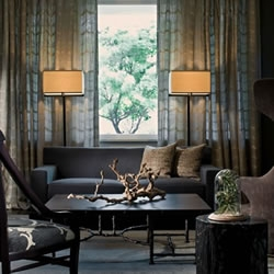 Striking the balance between modern and classical design, Kara Mann's bespoke interiors excercise complete design auteurism