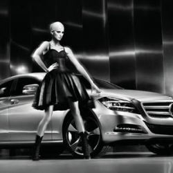 Karolina Kurkova is going to be the face of the 2011 Mercedes-Benz CLS coupe.