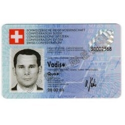 Since 1995 we have this identity card in switzerland. With this passport card, additional to the normal passport, we could travel in every european country. So we have booth, Passport and Identity Card.