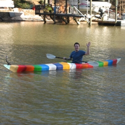 World's First 3D Printed Kayak, designed and printed by Grass Roots Engineering