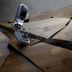 Paris photographer, Khuong Nguyen shatters appliances and electronics for Amusement Magazine.
