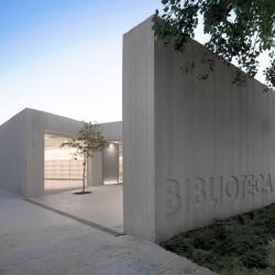 Biblioteca Sant Josep, designed by the Ramón Esteve Estudio in Ontinyent, Spain.
