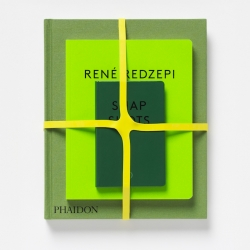 """René Redzepi: A Work in Progress"" is a collectible set of three beautifully designed books: a cookbook; a personal journal written by Redzepi; and a pocket book of candid, Instagram-style snapshots featuring the influential chef and his team."