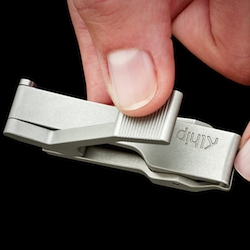 Klhip is a revolutionary nail clipper, reverse engineered so that  pressure is applied right above the blade. Better ergonomics. Effortless cutting. Lifetime use.