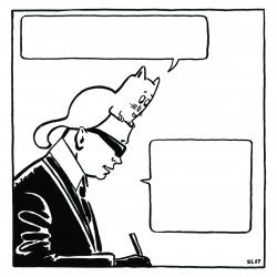 Kreatime: a DIY comics by french artist Bl67 for Karl Lagerfeld Daily. Complete the comics and try to win a special prize.